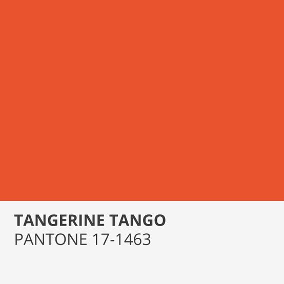 TANGERINE TANGO - Tangerine Tango, a cor de 2012.