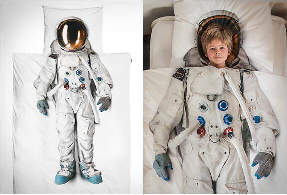 astronaut duvet cover - Criatividade: edredons estampados