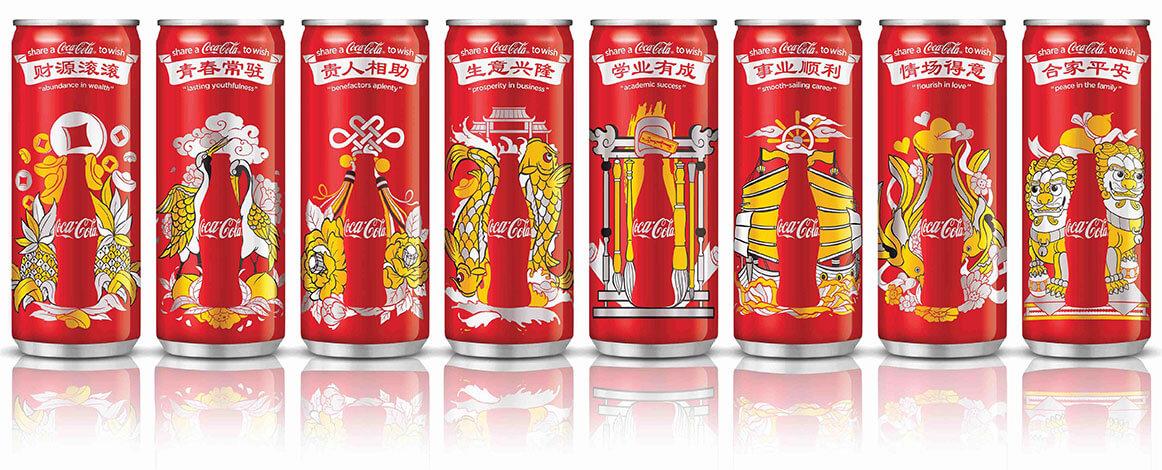 coca cola ano novo chines latas personalizadas - A relevância da personalização - dados impressionantes