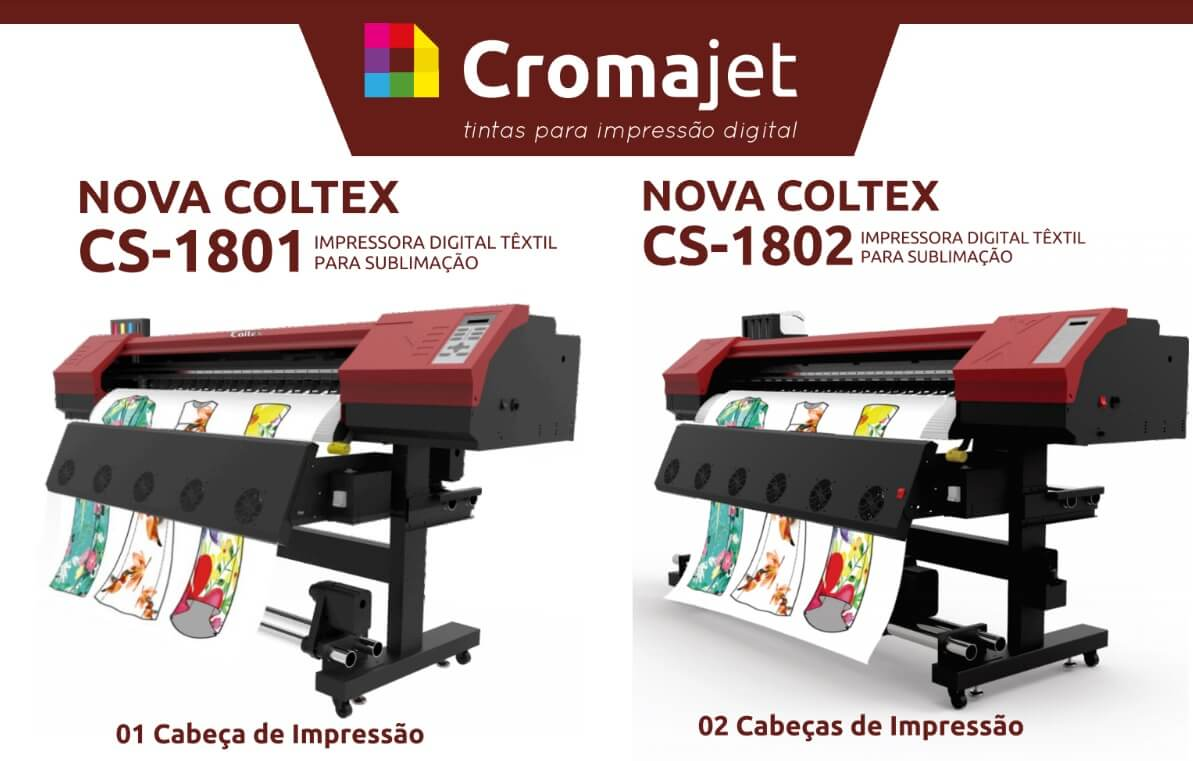 Coltex 1 e Coltex 2 - Novidades: Impressoras Coltex CS