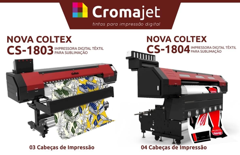 Coltex 3 e Coltex 4 - Novidades: Impressoras Coltex CS