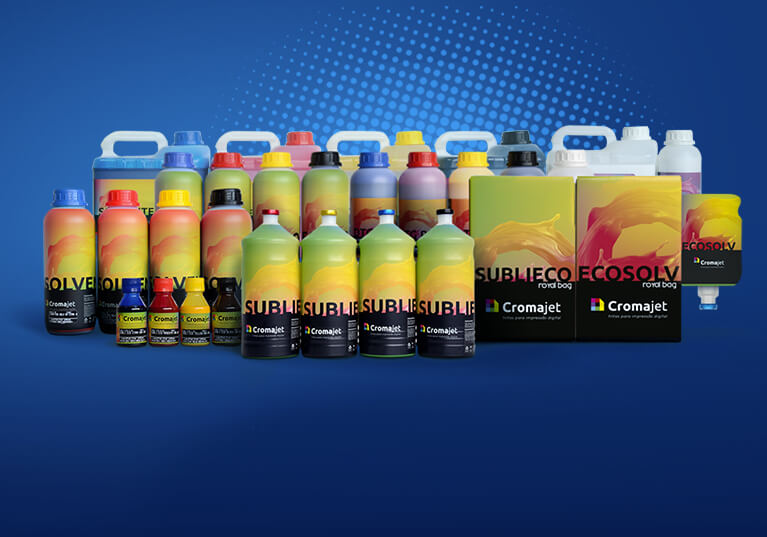 Novas embalagens Cromajet. <br>A mesma fórmula que você já conhece <br> e aprova, com um novo visual