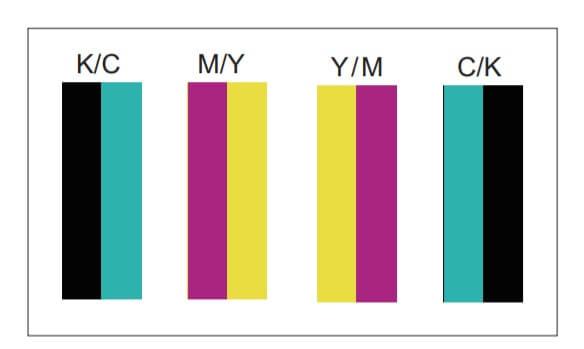 alinhamento de cores simétricas - Folder técnico com as especificações da Homer