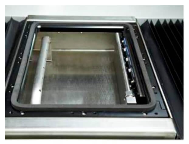 sistema de hidratação - Folder técnico com as especificações da Homer