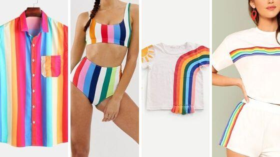 estampas de arco íris - Tendências de estampas para o verão 2020