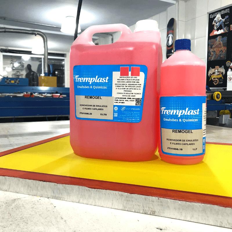 remogel - Remogel Fremplast - Removedor de emulsões