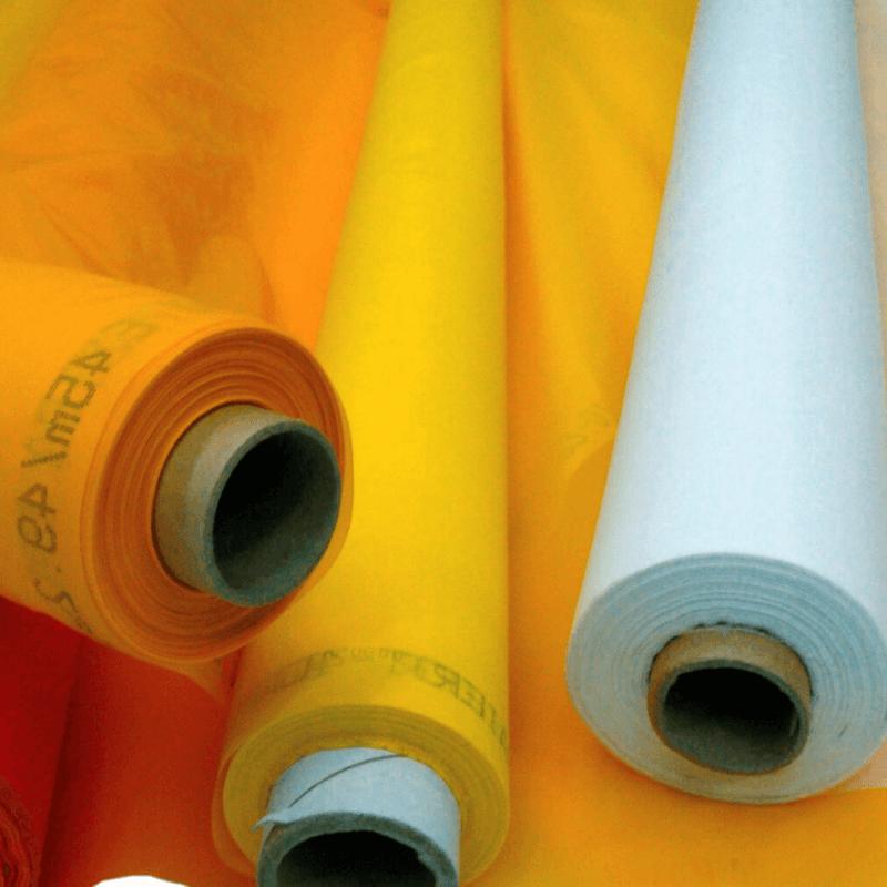 tecidos para telas serigráficas - Poliéster / Nylon - Tecidos para telas serigráficas