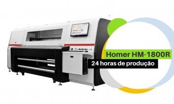Homer HM-1800R – 24 horas de produção
