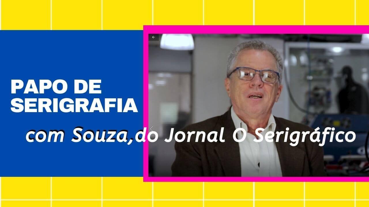 conversa de serigrafia com Souza