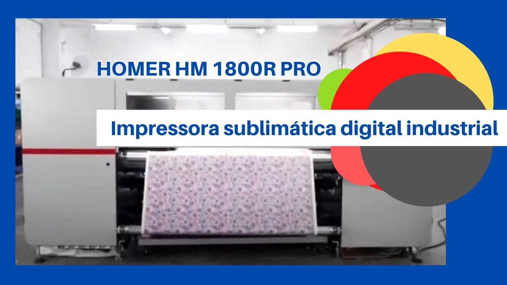 Impressora Homer HM 1800R Pro