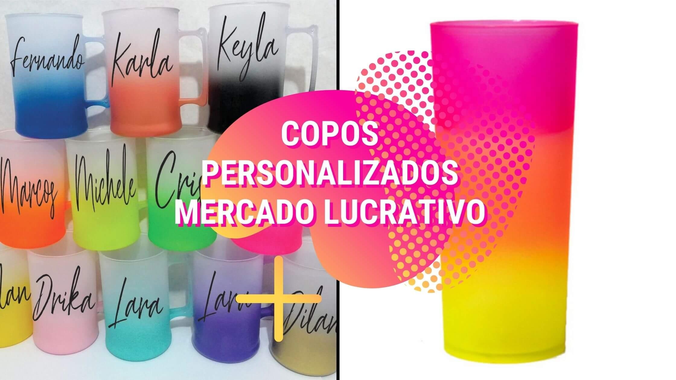 tinta para personalização de copos