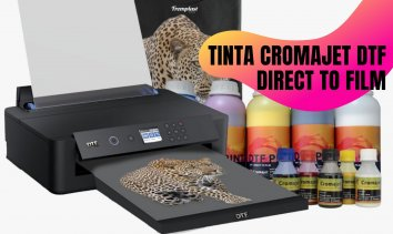 TINTA CROMAJET DTF – DIRECT TO FILM